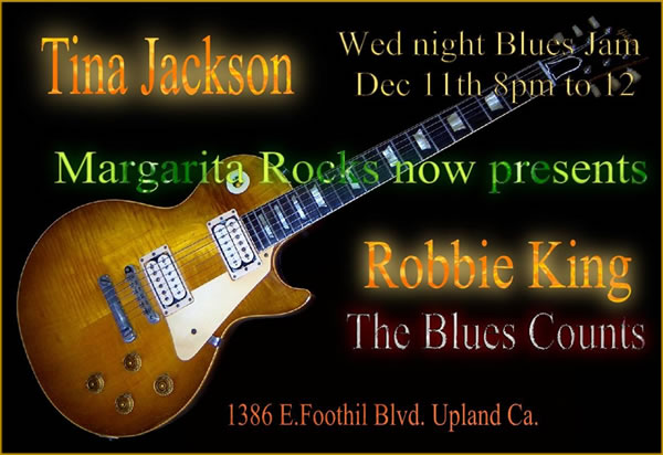 Open Blues Jam at Margarita Rocks