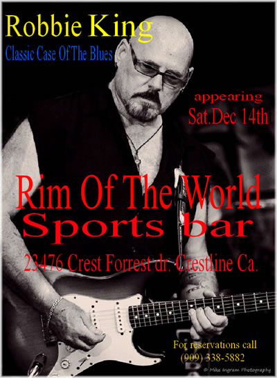 A Classic Case of the Blues at the Rim Of The World Sports Bar in CCrestline, CA